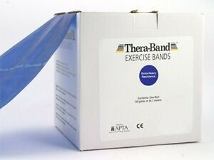 Thera-Band (Blue) by the FOOT Extra-Heavy--Resistance + Free Shipping Theraband