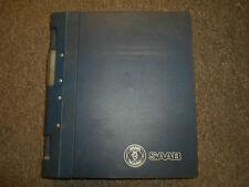 1994- 95 96 1997 Saab 900 News Technical Data OBD II General Info Service Manual