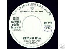 CORKY MAYBERRY & JORDANAIRES - Whispering Grass - DJ 45