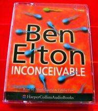 Ben Elton Inconceivable 2-Tape Audio Book Hugh Laurie/Emilia Fox