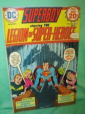 Superboy #204 Legion Super Heroes Supergirl Resigns 1974 Dc Comics G/Vg