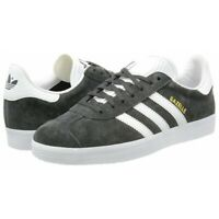 Adidas Originals Gazelle Mens Trainers Casual Black Navy Grey UK Size