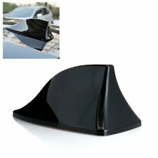 FM/AM Signal Decorate Aerial Car Shark-Fin Universal Roof Antenna Black ABS Made