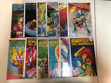 Robotech II The Sentinels The Malcontent Uprising 1990 #1-12 FN/VF+ Complete Set