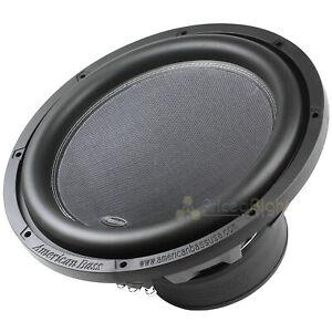 "XR Series 15"" Subwoofer 3000 Watts Max DVC 2 Ohm Car Audio American Bass XR-15D2"