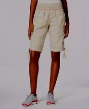 Calvin Klein Performance Mid Length Cargo Shorts Latte Size X-Small
