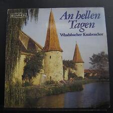 Windsbacher Knabenchor - An Hellen Tagen LP Mint- 670-01-007 Vinyl Record