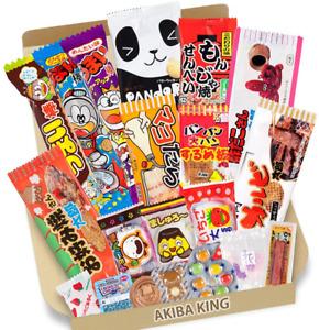 Trial Japanese Candy Dagashi Box 20pcs Umaibo Snack Gumi Potato Chip Kitty Choco