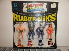 1967 JLA JUSTICE LEAGUE OF AMERICA RUBB'R NIKS MULTIPLE TOYMAKERS MPC UNUSED