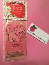 Retro Strawberry Shortcake Air Freshener Pet Custard (2003) Bubble Gum Scented