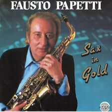"FAUSTO PAPETTI ""SAX IN GOLD"" RARE SPANISH CD / NO BARCODE - STEVIE WONDER"