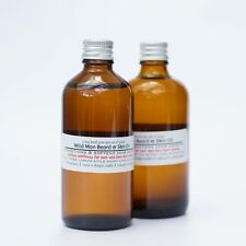 RAW PASSION Wild Man Beard & Skin Oil 100ml Conditioning 100% Organic Vegan