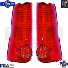 63 Catalina Bonneville Taillight Tail Turn Brake Light Lamp Lens - PAIR USA Made