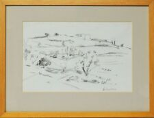 Zeichnung Nini Consolaro Italien Verona 1980 Sammlung Karl Schott 42 x 32 cm