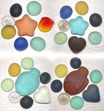 Crafts Sea Gass Mosaics Macine Made Beach Glass Machine-Tumbled Multicolored