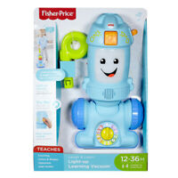 Fisher-Price FNR97 Laugh Light-up Learning Vacuum, Baby and Toddler Push Toy,