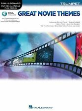 Play-Along Great Movie Themes FILM Songs Godfather STAR WARS TRUMPET Music Book