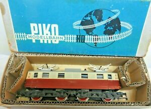 Piko 0701 H0 Locomotive E 46 Der Dr Red Beige Light And Trip Checked IN Boxed