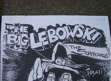 Big Lebowski Crew Storyboards Call Sheets Contract Shoot Location Dude's Abode +
