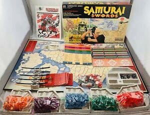 1986 Samurai Swords Game (Shogun) by Milton Bradley Complete in Great Condition