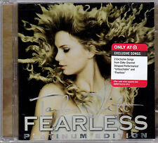 Taylor Swift Fearless Target Exclusive Deluxe CD+DVD Platinum Edition New Sealed