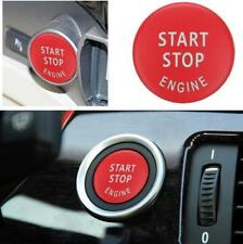 Red Engine Start Stop Switch Button Cover For BMW E60 E70 E90 E92 E93 Series