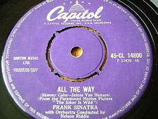 """Frank SINATRA-Fino 7"""" in vinile"""