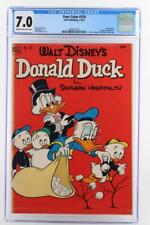 Four Color #379 - CGC 7.0 FN/VF - Dell 1952 - Uncle Scrooge & Donald Duck!!!
