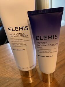 Elemis Pro Radiance Cream Cleanser 200ml Elemis Peptide4 Thousand Flower Mask BN