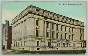 Gary Indiana~Aerial View Of The Y.M.C.A ~1910 Postcard