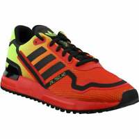 adidas ZX 750 HD Lace Up Sneakers  Casual   Sneakers Red Mens - Size 6 D