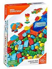 Mega Construx Vibrant Box of Blocks - 240pcs