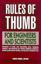 Rules of Thumb for Engineers and Scientists-ExLibrary