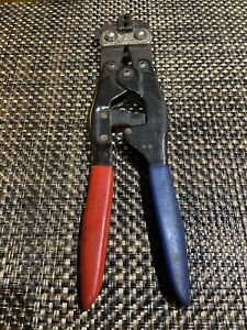 PANDUIT CT-500 CONTROLLED CYCLE 22-14 AWG WIRE CRIMP TOOL