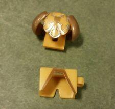 Lot of 2 Custom LEGO Gold armor & leggings castle knight Roman Greek LOTR