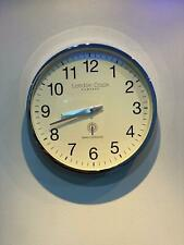 London Clock Company Radio Controlled Chrome Finish Wall Clock 36049