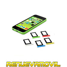Bandeja Porta Sim Portasim Microsim Para iPhone 5c Soporte Tarjeta Sim Blanco