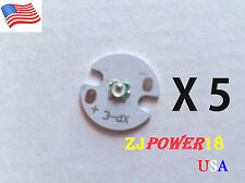 5pc 3535 High Power 940nm Infrared Led Light Ir Led Chip With 16mm Round Pcb