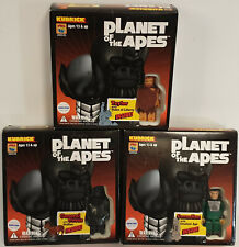 PLANET OF THE APES :  TAYLOR, CORNELIUS & GENERAL URSUS KUBRICK SETS BY MEDICOM