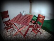 Doll set chair table dollhouse furniture diorama 1:6  Blythe Momoko Poppy Barbie