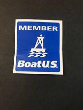 Vintage Member U S Boat Sticker Rare Unique