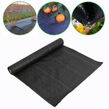 10m-100m Weed Control Fabric Ground Cover Heavy Duty Membrane Landscape Sheet UK