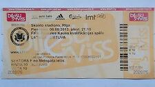 TICKET LS 6.9.2013 Lettland - Litauen
