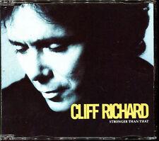 CLIFF RICHARD - STRONGER THAN THAT - CD MAXI [2474]