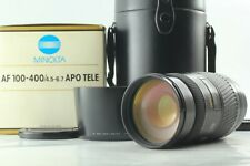 [Boxed MINT++]  Minolta AF APO TELE 100-400mm f/4.5-6.7 Lens for Sony from Japan