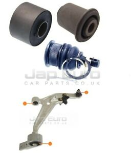 For NISSAN X-TRAIL T30 01-07 FRONT LOWER CONTROL WISHBONE ARM BALL JOINT BUSHES
