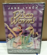 Disco Worms DVD with Jane Lynch NIP Animated  2011 Family Fun Night Movie G