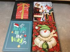 Gift Card Boxes Lot Of 4 New Holiday Boxes Measures 4� by 5.5� Snowman-Santa