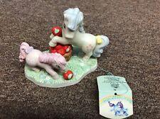 My Little Pony Porcelain Apple Orchard Figurine. 1985