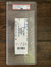 LA Dodgers Vin Scully Signed Auto Ticket 09/25/16 Last Game @ Dodger Stadium PSA